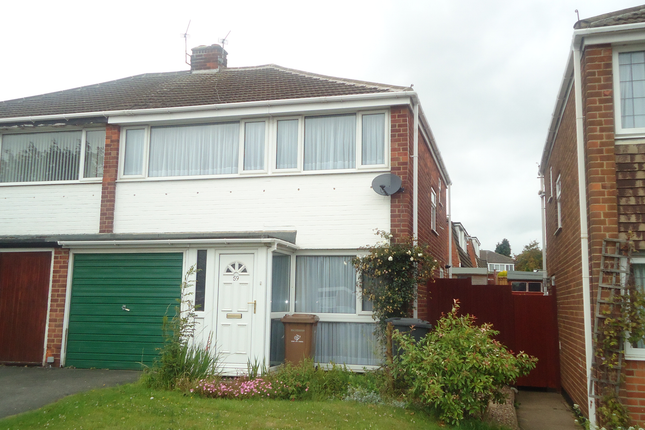 Thumbnail Semi-detached house to rent in Donington Drive, Sunnyhill Derby