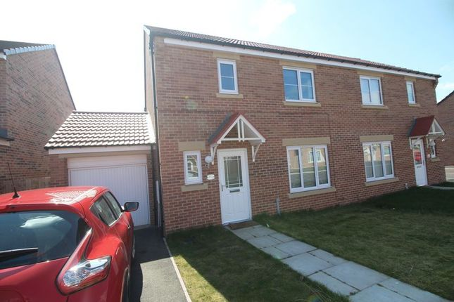 Thumbnail Semi-detached house to rent in The Risings, Wallsend