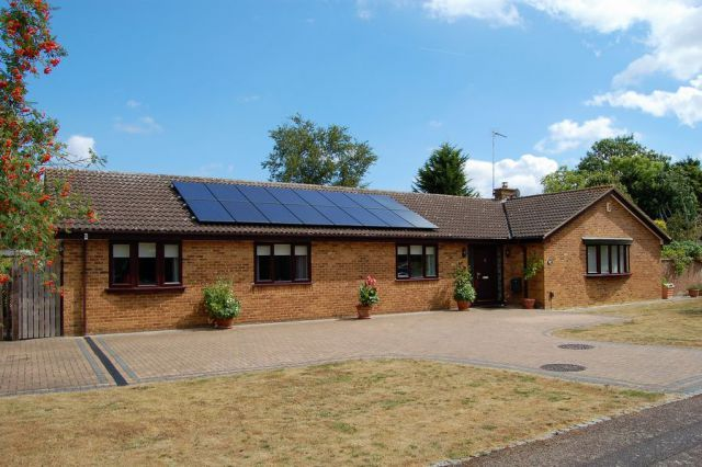 Thumbnail Detached bungalow for sale in Heronsford, West Hunsbury, Northampton