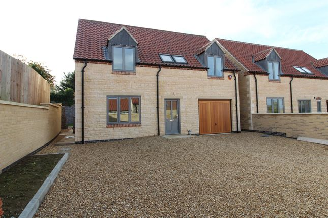 Thumbnail Detached house for sale in Maypole Close, Castle Bytham, Grantham