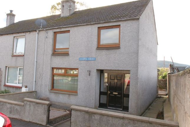 Thumbnail End terrace house for sale in 13 Chapel Court, Dufftown, Keith
