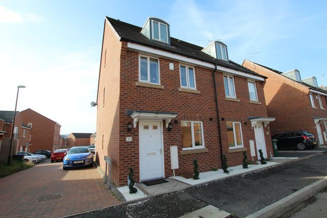 Thumbnail Semi-detached house to rent in Middlesex Road, Coventry