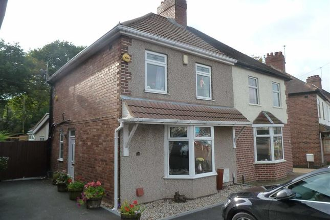 Thumbnail Semi-detached house for sale in Watling Street, Grendon, Atherstone