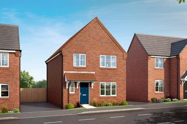 "Thumbnail Property for sale in ""The Alpine At Hedgerows, Bolsover"" at Mooracre Lane, Bolsover, Chesterfield"
