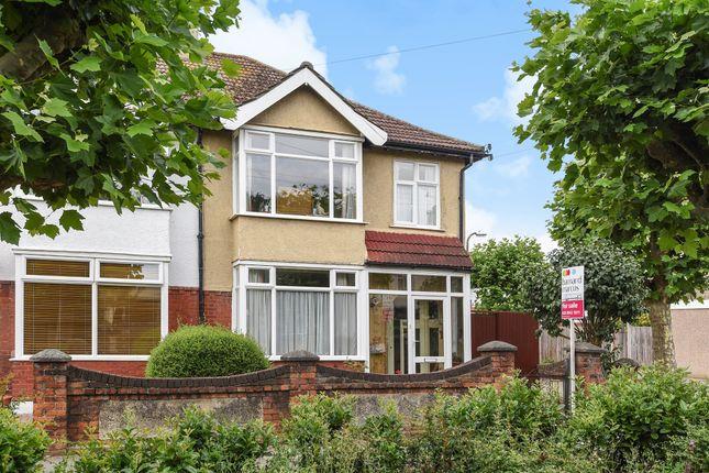Thumbnail Semi-detached house for sale in Taunton Avenue, West Wimbledon, London