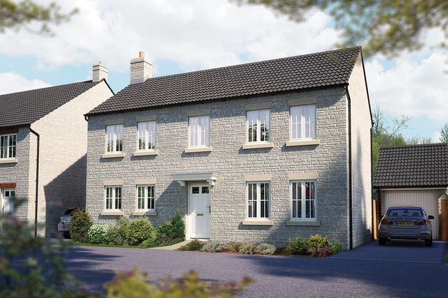 "Thumbnail Detached house for sale in ""The Montpellier"" at Hallatrow Road, Paulton, Bristol"
