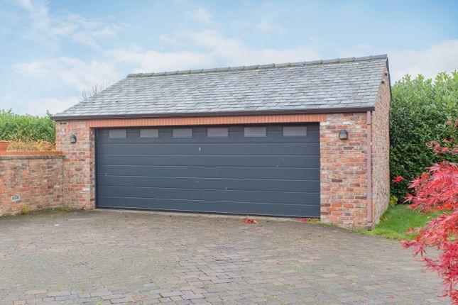 Garage of Mustard Lane, Croft, Warrington WA3