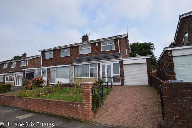 Thumbnail Semi-detached house for sale in Carlisle Crescent, Houghton Le Spring