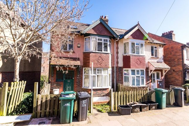 Thumbnail Terraced house to rent in Stanmer Park Road, Brighton