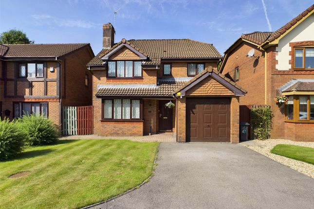 Thumbnail Detached house for sale in Augusta Park, Victoria, Ebbw Vale, Gwent