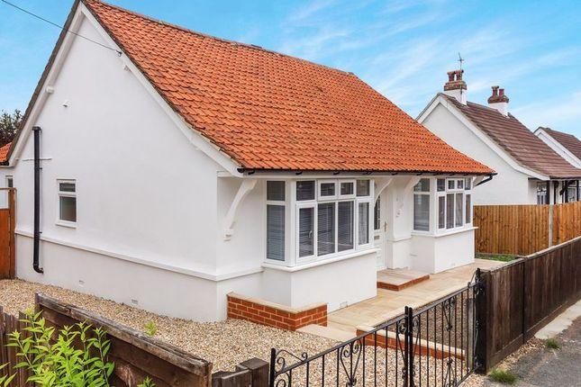 Thumbnail Detached bungalow to rent in Park Road, Aldershot