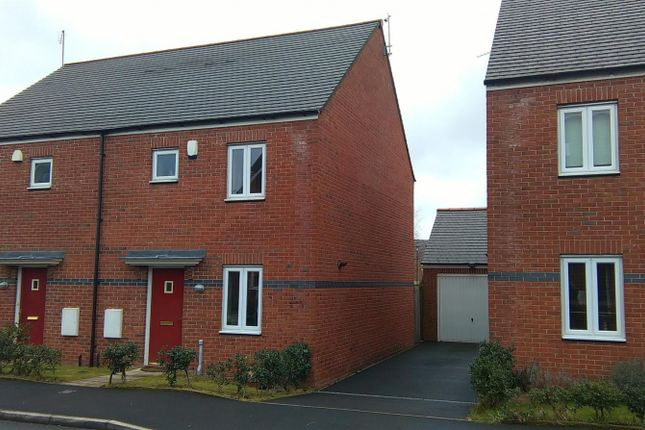 Thumbnail Semi-detached house to rent in Rosefinch Road, West Timperley, Altrincham