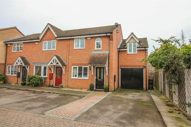 Thumbnail End terrace house for sale in Davenport, Church Langley, Harlow, Essex