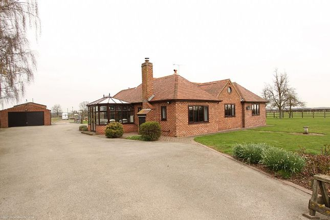 Thumbnail Detached bungalow for sale in Hodsock Lane, Carlton-In-Lindrick, Worksop, Nottinghamshire