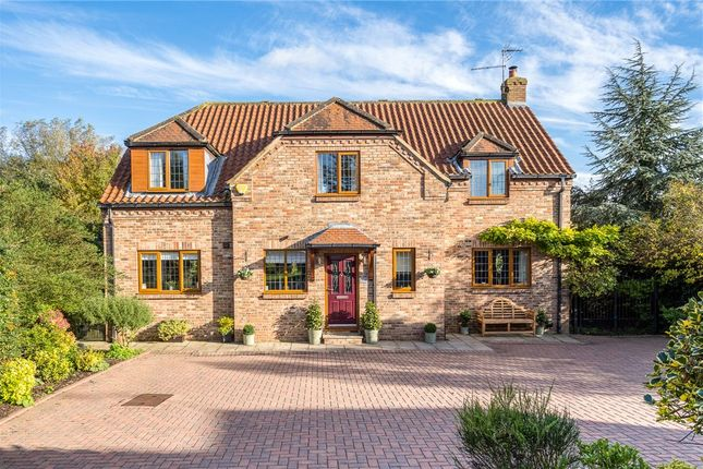 Thumbnail Detached house for sale in Willow Garth, Ferrensby, Knaresborough, North Yorkshire