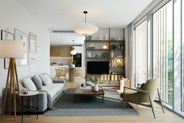 2 bed flat for sale in Grand Central Apartments, Kings Cross NW1