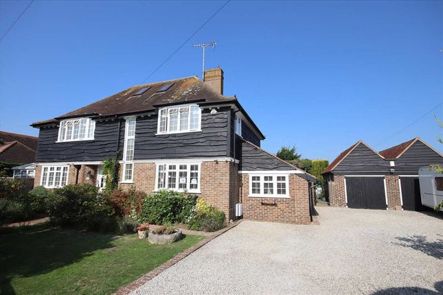 Thumbnail Detached house for sale in Beehive Lane, Ferring, Worthing