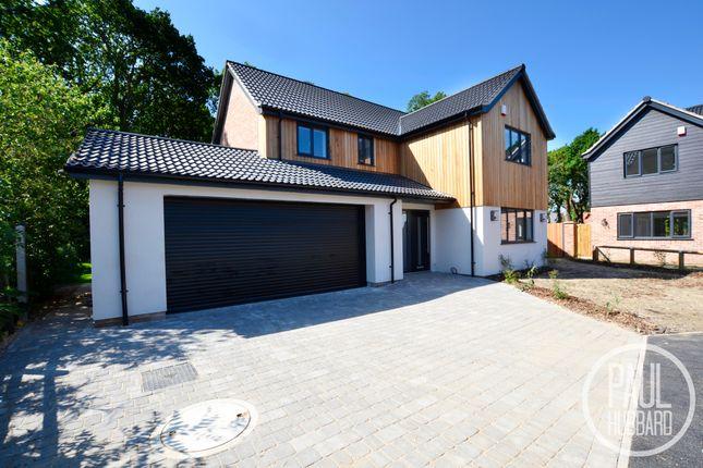 Thumbnail Detached house for sale in Corton Long Lane, Corton, Lowestoft