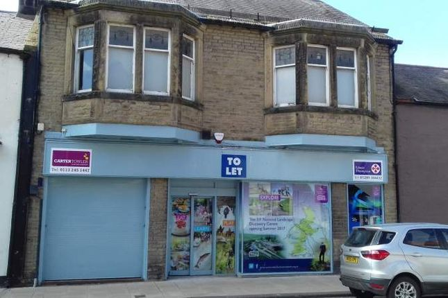 Thumbnail Retail premises to let in 45, High Street Wooler Northumberland, Northumberland