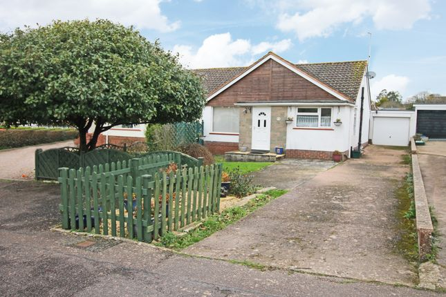 Thumbnail Semi-detached bungalow for sale in Long Meadow, Woodbury, Exeter