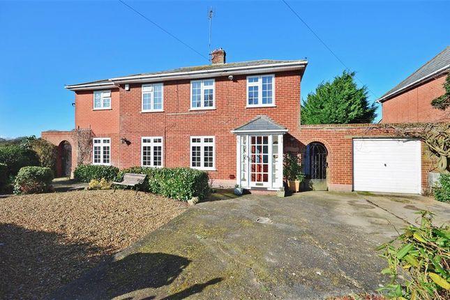 Thumbnail Detached house for sale in Bullockstone Road, Bullockstone, Herne Bay, Kent