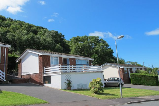 Thumbnail Semi-detached bungalow for sale in Cwmhalen, New Quay