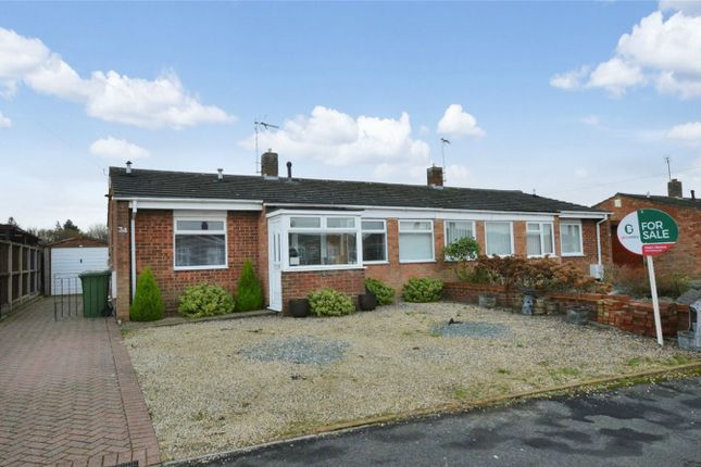 Thumbnail Semi-detached bungalow for sale in Blithemeadow Drive, Sprowston, Norwich