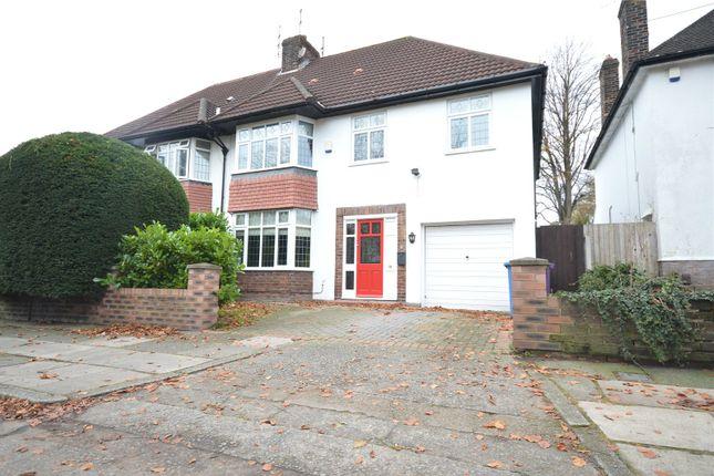 Thumbnail Semi-detached house for sale in Glendyke Road, Calderstones, Liverpool