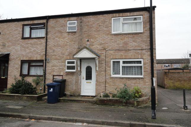 Thumbnail End terrace house for sale in Hazeltree Lane, Northolt