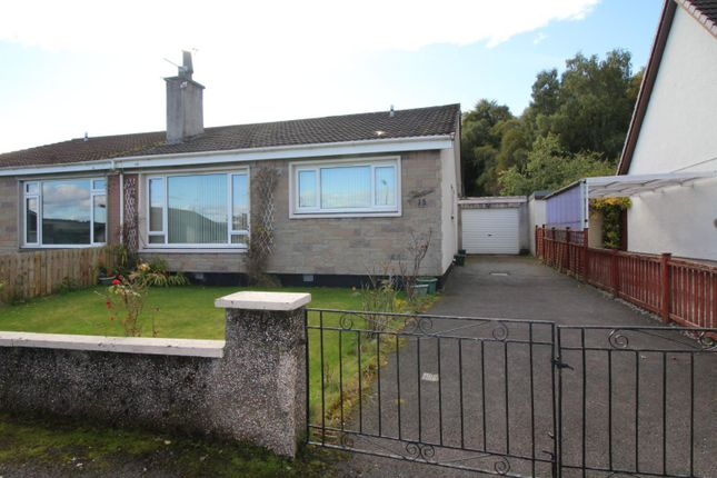 Thumbnail Semi-detached bungalow for sale in Rosshill Drive, Maryburgh