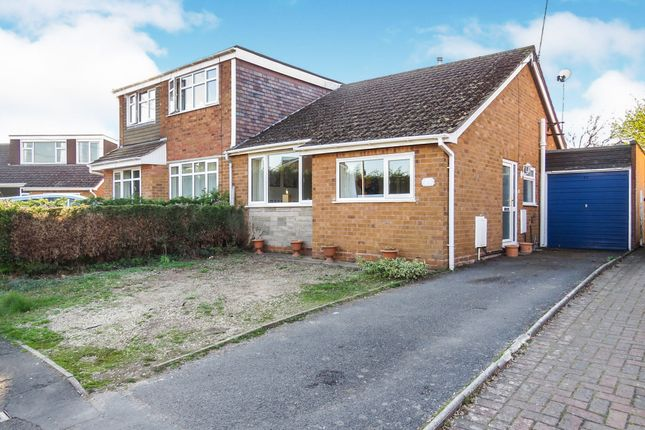 Thumbnail Semi-detached bungalow for sale in Pinfold Close, Wheaton Aston, Stafford