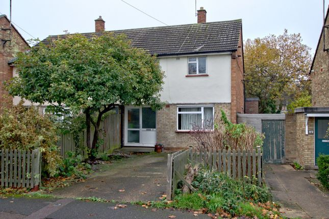 Thumbnail Semi-detached house for sale in Wadloes Road, Cambridge