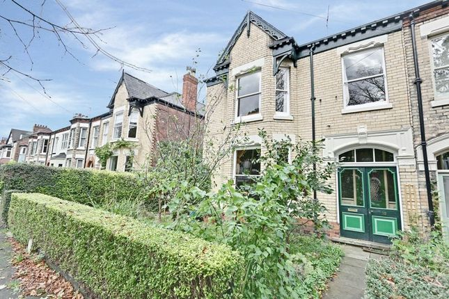 Thumbnail End terrace house for sale in Park Avenue, Princes Avenue, Hull