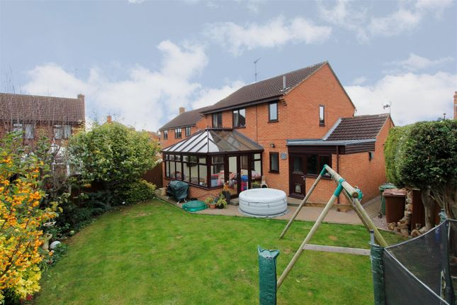 Thumbnail Detached house for sale in Baron Court, Werrington, Peterborough