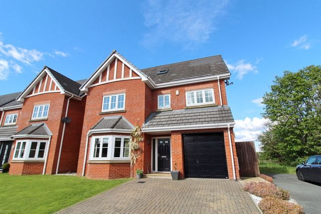 Thumbnail Detached house for sale in Vista Close, Westhoughton, Bolton