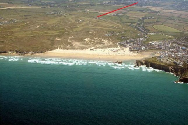 Thumbnail Flat for sale in Perranporth