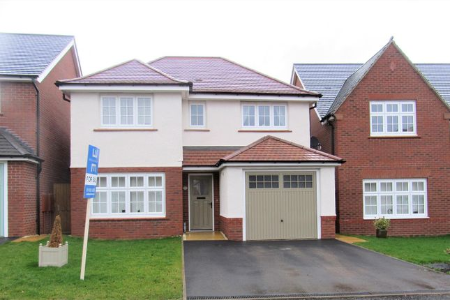 Thumbnail Detached house for sale in Jubilee Way, Countesthorpe, Leicester