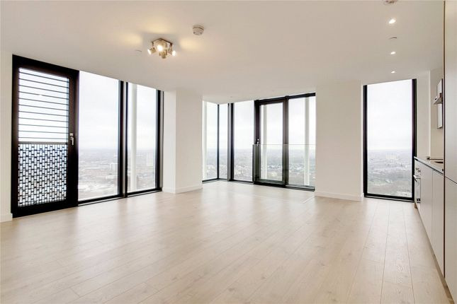 Thumbnail Flat for sale in Stratosphere, 55 Great Eastern Road, London