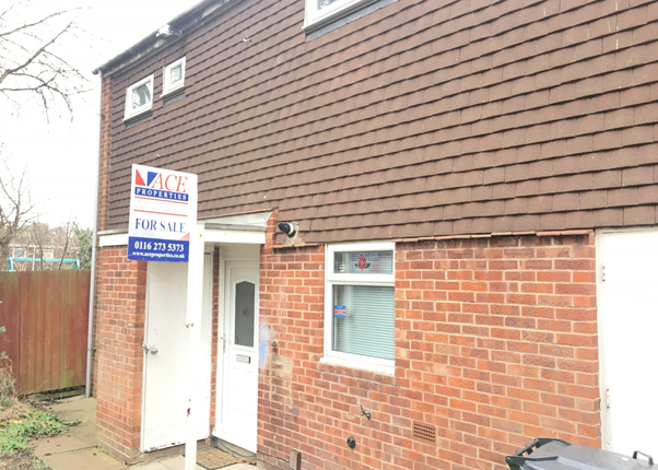 Thumbnail Terraced house for sale in Allinson Close, Leicester, Leicestershire