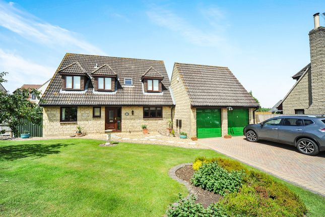 Thumbnail Detached bungalow for sale in Nursery Close, Atworth, Melksham