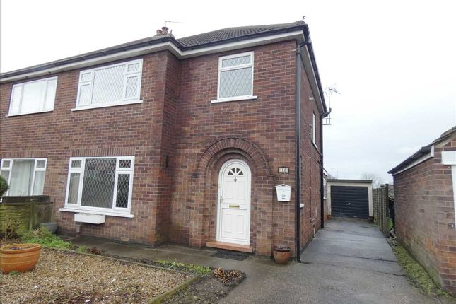 Thumbnail Semi-detached house to rent in Rugby Road, Scunthorpe