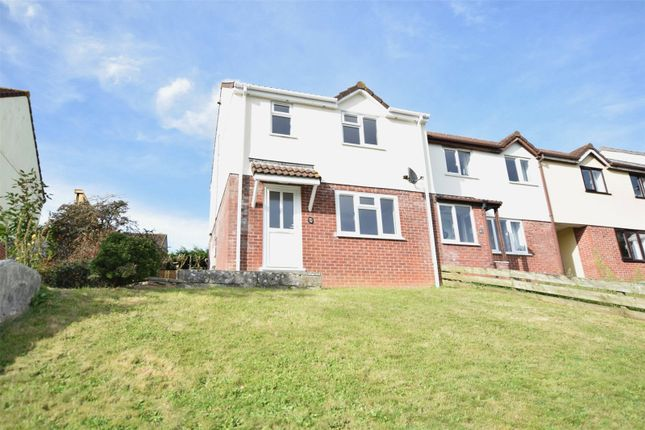 Thumbnail End terrace house to rent in Agnes Close, Bude