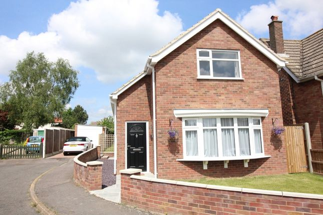 Thumbnail Detached house for sale in Stanford Crescent, Little Plumstead, Norwich