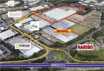 Thumbnail Light industrial to let in California 400 Distribution Centre, California Drive, Castleford, West Yorkshire