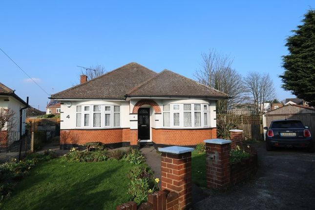 Thumbnail Detached bungalow for sale in Pinetrees, Benfleet