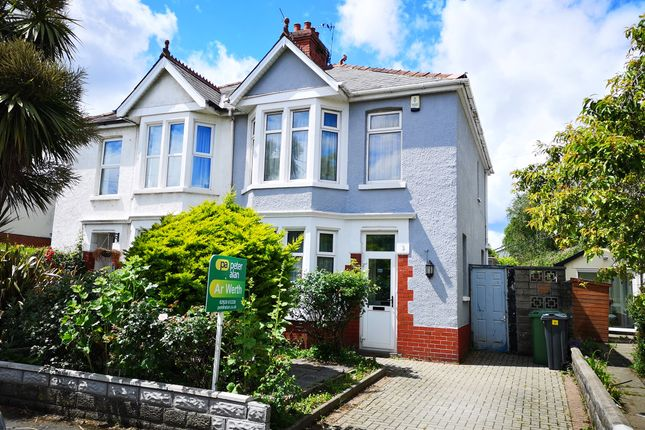 Semi-detached house for sale in Foreland Road, Whitchurch, Cardiff