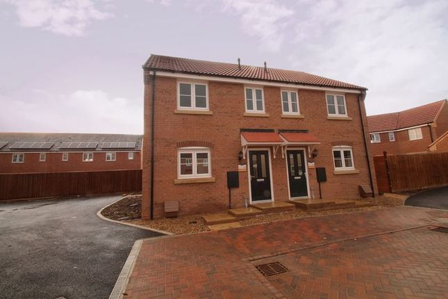 Thumbnail Semi-detached house for sale in The Ashton, Eastrea Road, Whittlesey, Peterborough