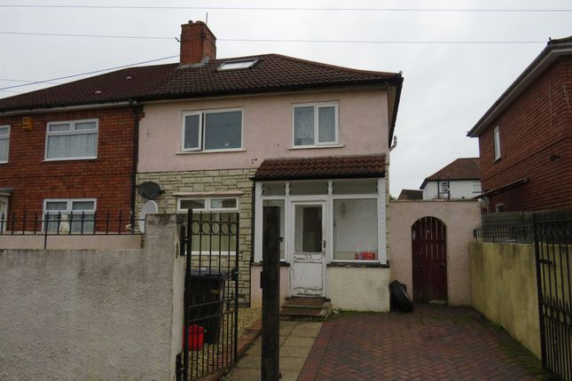 Thumbnail Semi-detached house for sale in Dorchester Road, Horfield, Bristol