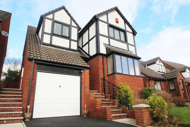 4 bed detached house for sale in Forest View, Woolwell, Plymouth