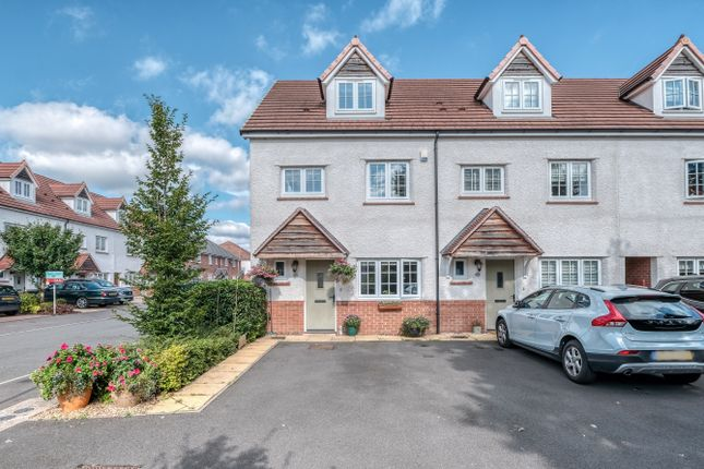 Thumbnail End terrace house to rent in Turntable Avenue, Bromsgrove